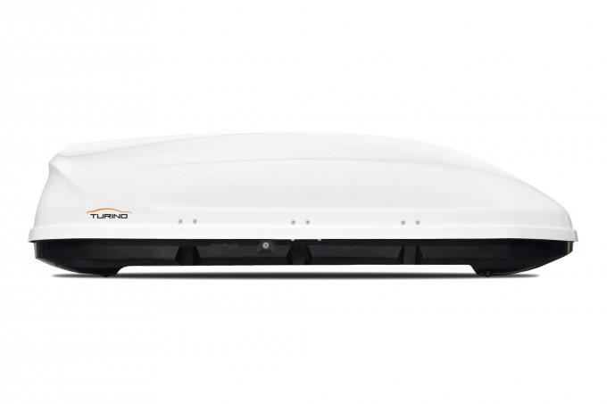 """Автомобильный Бокс на крышу """"Turino 1"""" (410 литров, белый)"""