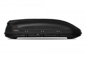 """Автомобильный Бокс на крышу """"Turino 1""""  (410 литров, черный)"""