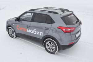 Рейлинги (Черный муар) Hyundai CRETA с 2016