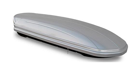 Автомобильный Бокс на крышу Menabo Mania (400 литров, серебристый)