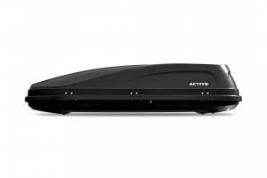 """Автомобильный Бокс на крышу """"ACTIVE M""""  (450 литров, черный) двухстороннее открывание"""