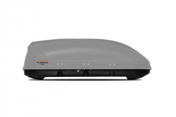 """Автомобильный Бокс на крышу """"Turino Compact"""" (360 литров, серый)"""