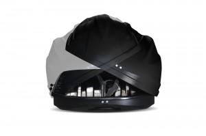"""Автомобильный Бокс на крышу """"Turino 1""""  (410 литров, черный) двухстороннее открывание"""