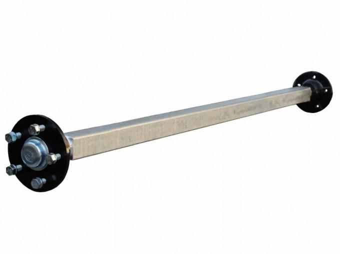 Ось со ступицами R16 в сборе (для прицепов с внутренней шириной кузова 1500 мм) (Трейлер)