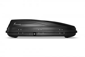 """Автомобильный Бокс на крышу """"ACTIVE S""""  (320 литров, черный) двухстороннее открывание"""