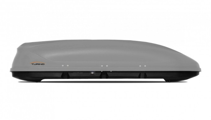"""Автомобильный Бокс на крышу """"Turino Sport"""" (480 литров, серый) двухстороннее открывание"""