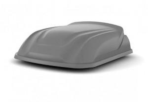 Автобокс LITE YUAGO ( 250 л.) Багажник-Бокс серый