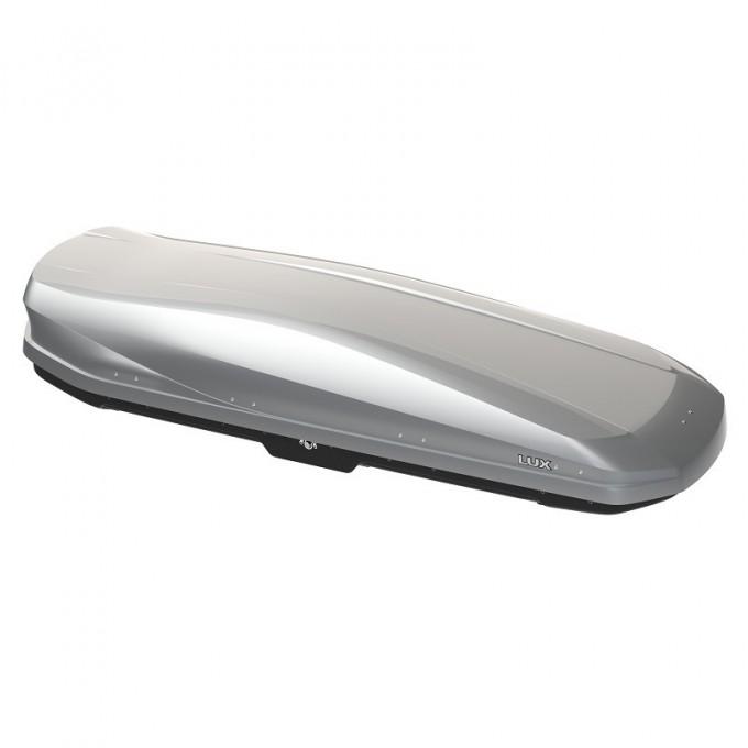 Бокс на крышу LUX IRBIS 206 (серый глянцевый) 470л
