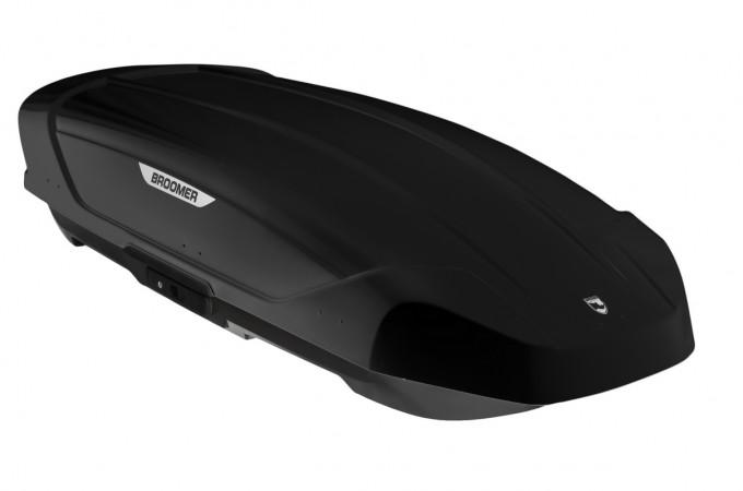 Автобокс Broomer Venture L (430 л.) черный глянец