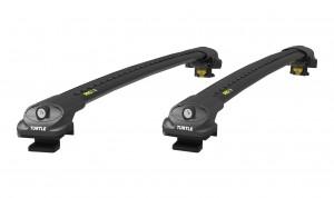 Багажник Turtle AIR 1 на стандартные рейлинги (черный)