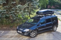 Автобокс Antares YUAGO (580 л.) (Euro Lock) Черный