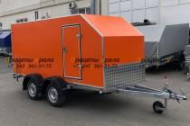 Прицеп - Фургон 80932 двухосный