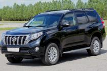 Рейлинги для Toyota Land Cruiser Prado 150 (2009- ) черные