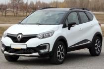 Рейлинги для Renault Kaptur (2016- ) черные