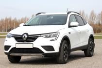 Рейлинги для Renault Arkana (2019-) черные
