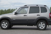 Рейлинги для LADA Niva Travel (2020- ), Chevrolet Niva (2002-2020) черные