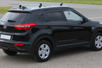 Рейлинги для Hyundai Creta (2016- ) интегрированные