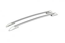 Рейлинги для Toyota RAV 4 (2005-2014) серебристый пластик